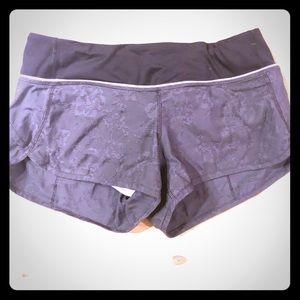 Lululemon Speed shorts - size 4